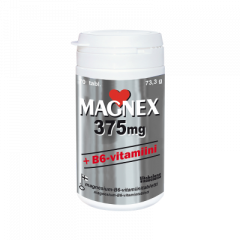MAGNEX 375 MG +B6-VITAMIINI X70 KPL
