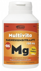 MULTIVITA MAGN.SITR+B6 GREIPPI 150MG 90 PURUTABL