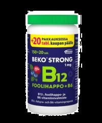 BEKO STRONG B12+FOOLIHAPPO+B6 MUSTIKKA-KARPALO 170 PURUTABL