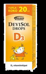 DEVISOL D3 DROPS 20 ML