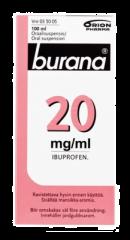 BURANA 20 mg/ml oraalisusp 100 ml